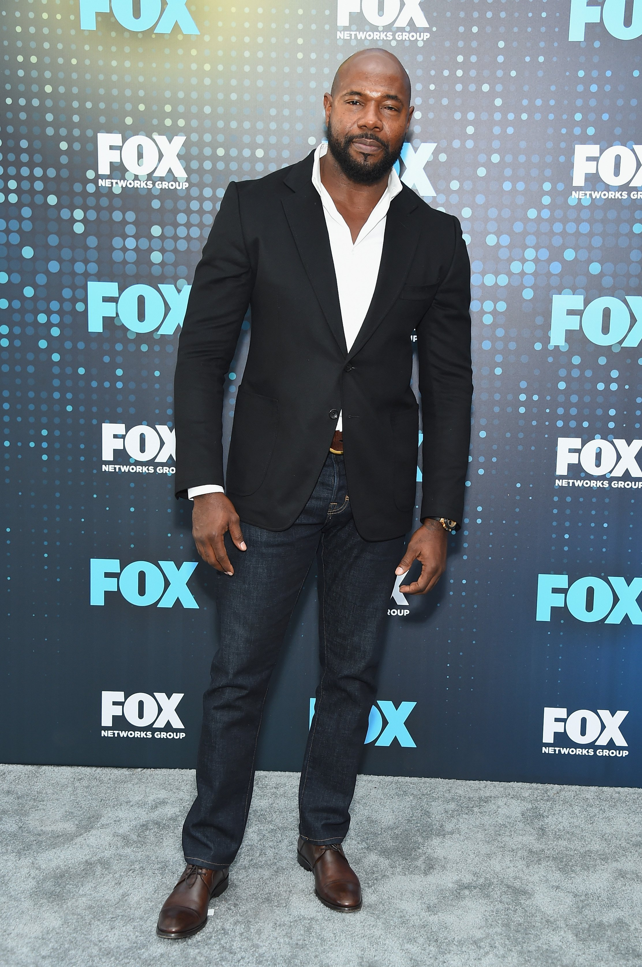 Antoine Fuqua attending the 2017 Fox Upfront at Wollman Rink, Central Park on May 15, 2017. | Source: Getty