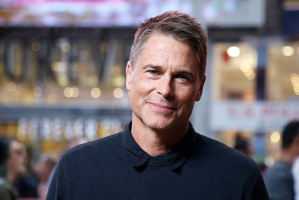 Rob Lowe at The Levi's Store Times Square on September 30, 2019 in New York City. | Photo: Getty Images
