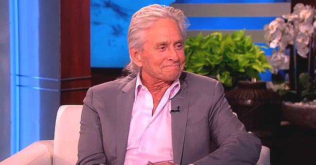 Michael Douglas of 'Kominksy Method' Told His Son Dylan Not to Jump First When He Went Skydiving