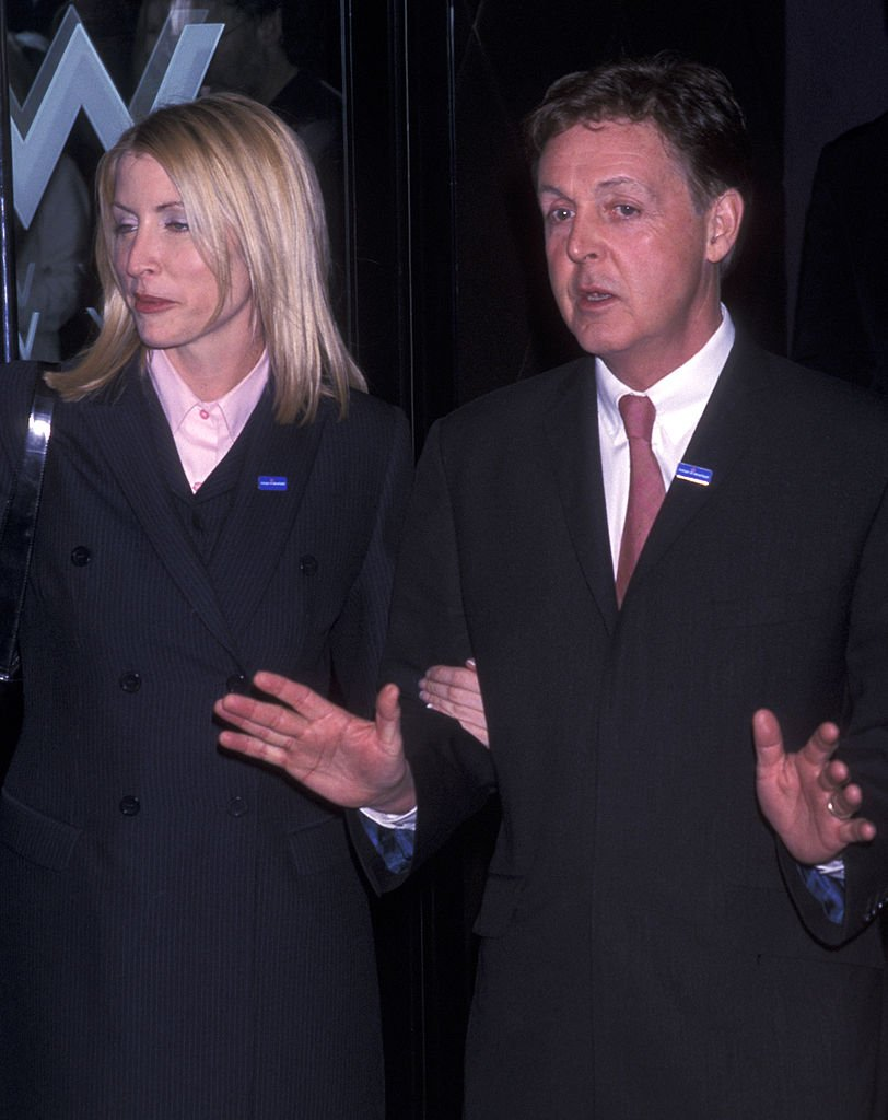 Paul McCartney and wife Heather Mills attend Adopt A Minefield Benefit Gala Honoring Paul McCartney on April 20, 2001 | Photo: Getty Images