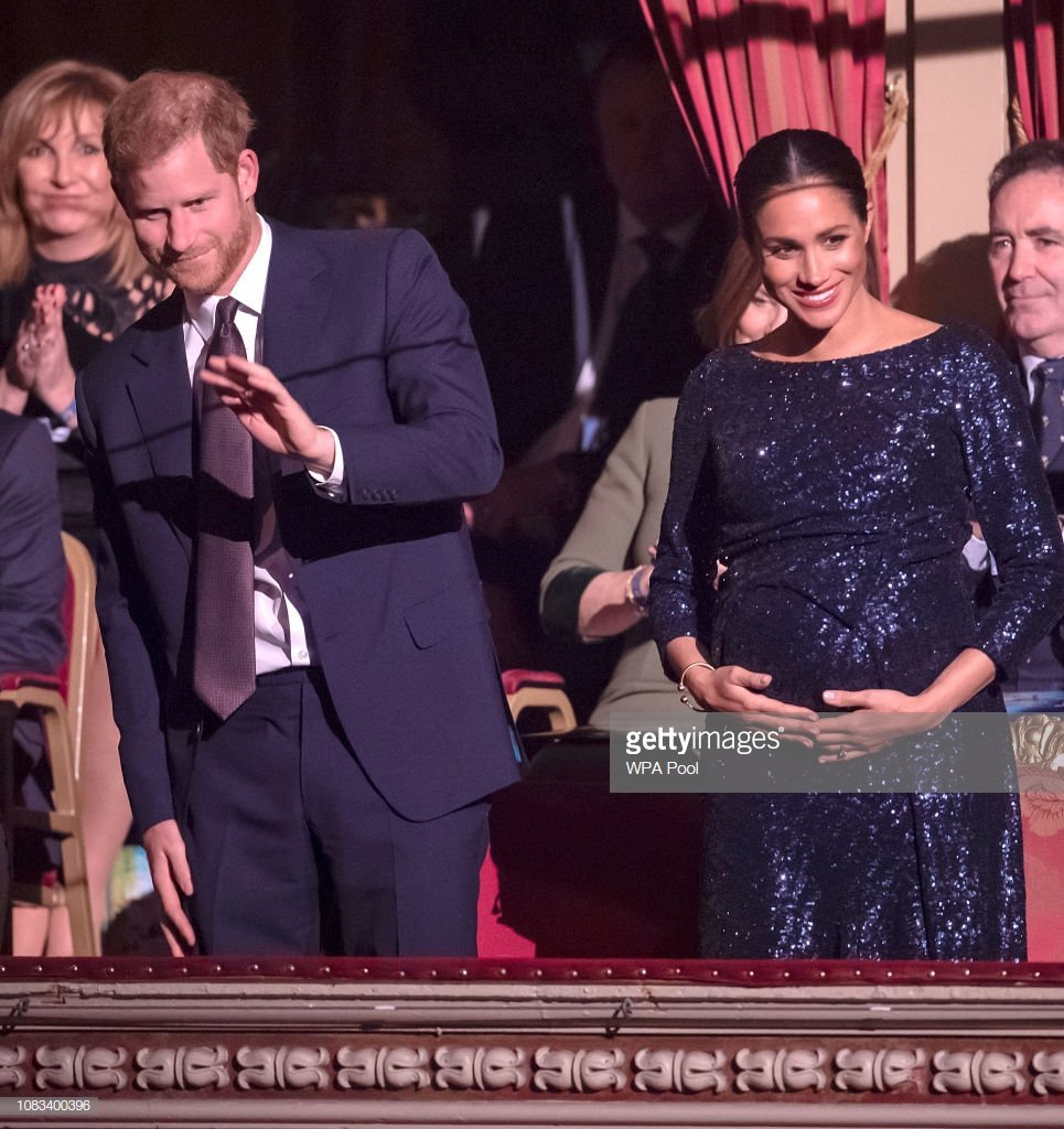 Le prince Harry et Meghan assistent à la première du Cirque du Soleil au Royal Albert Hall le 16 janvier 2019 à Londres, en Angleterre. | Photo: Getty Images