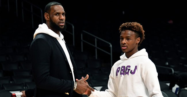 LeBron James' Teen Son Bronny in Hot Water after Smoking Marijuana in a Video on Instagram