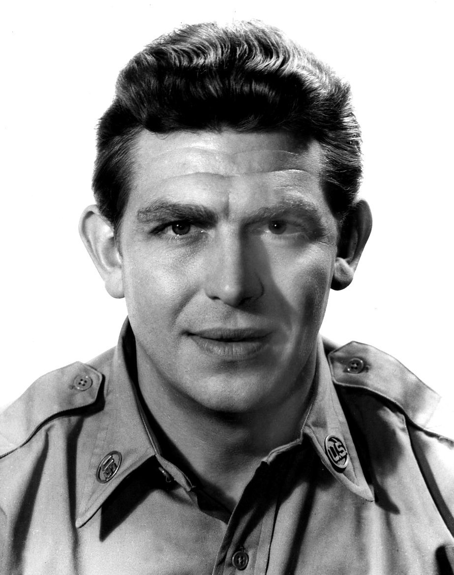 Publicity photo of Andy Griffith taken in 1958. | Source: Wikimedia Commons