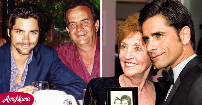 Pictures of John Stamos with his parents | Source: Instagram/johnstamos