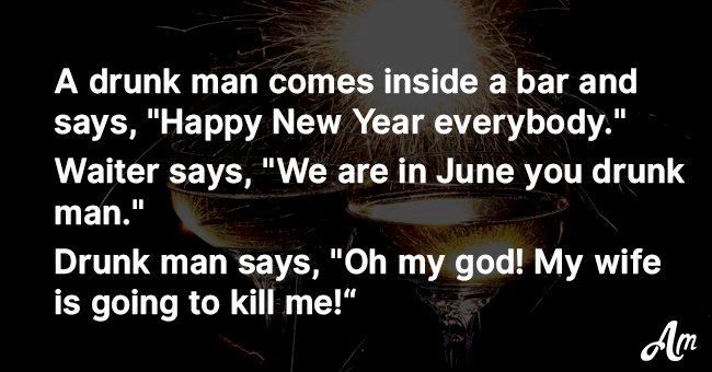 Top 5 jokes about situations that happen only at New Year