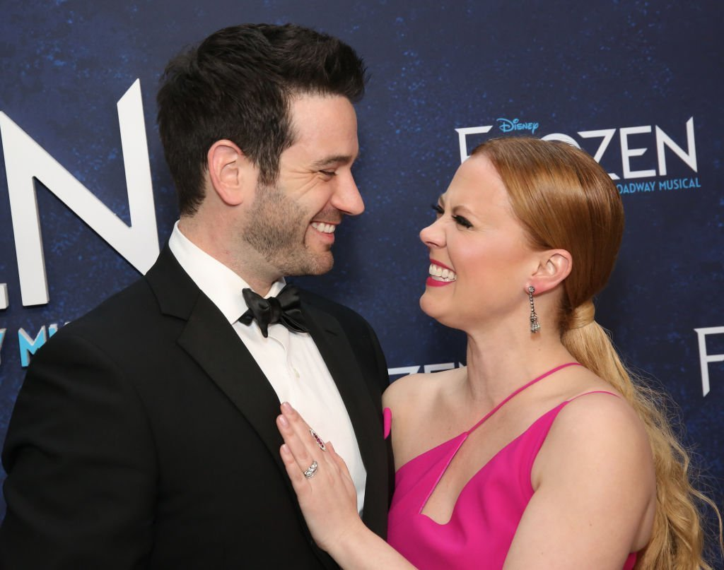 Colin Donnell and Patti Murin on March 22, 2018 in New York City | Source: Getty Images