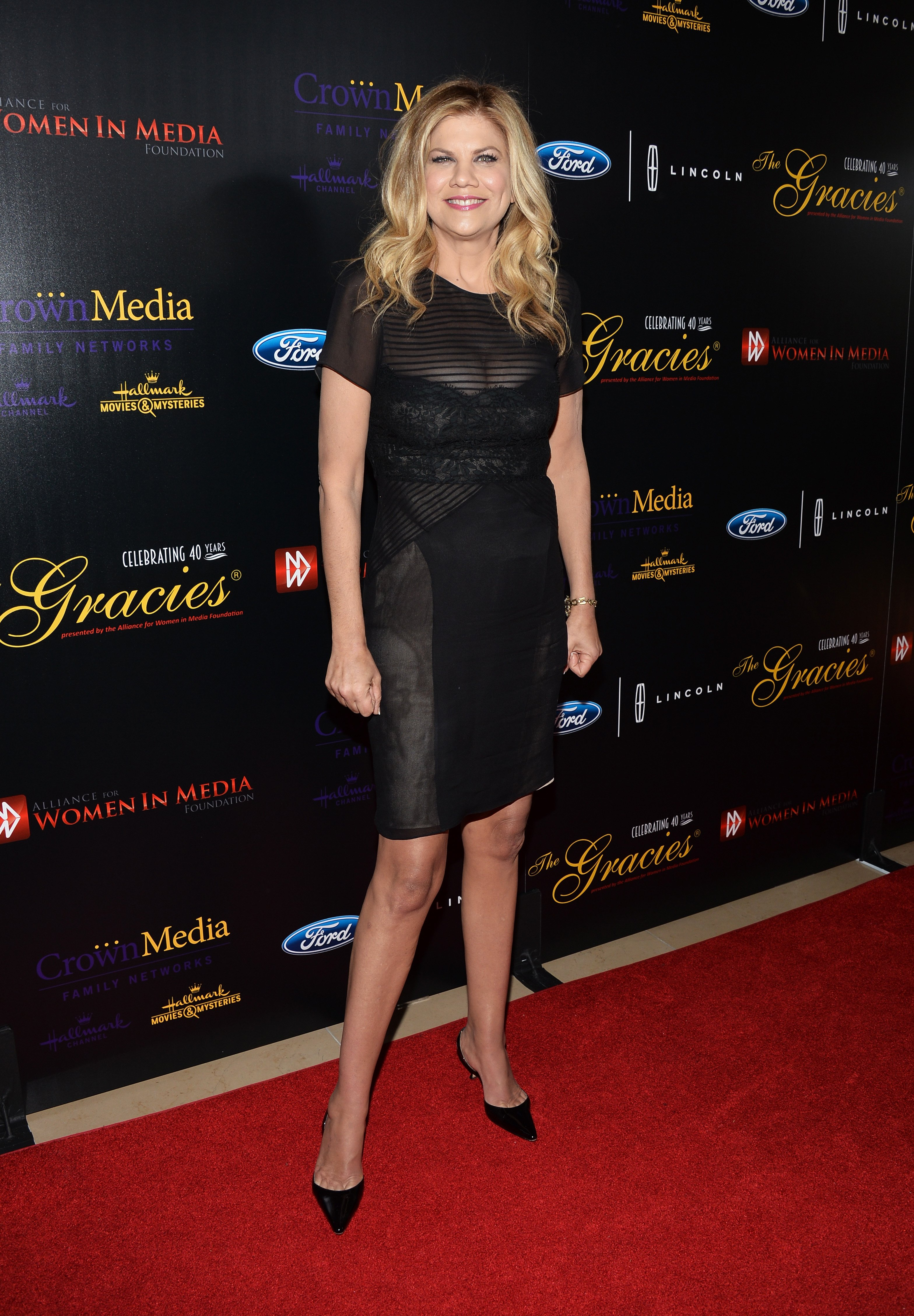 Kristen Johnston arrives at the 40th Anniversary Gracies Awards on May 19, 2015, in Beverly Hills, California.   Source: Getty Images.