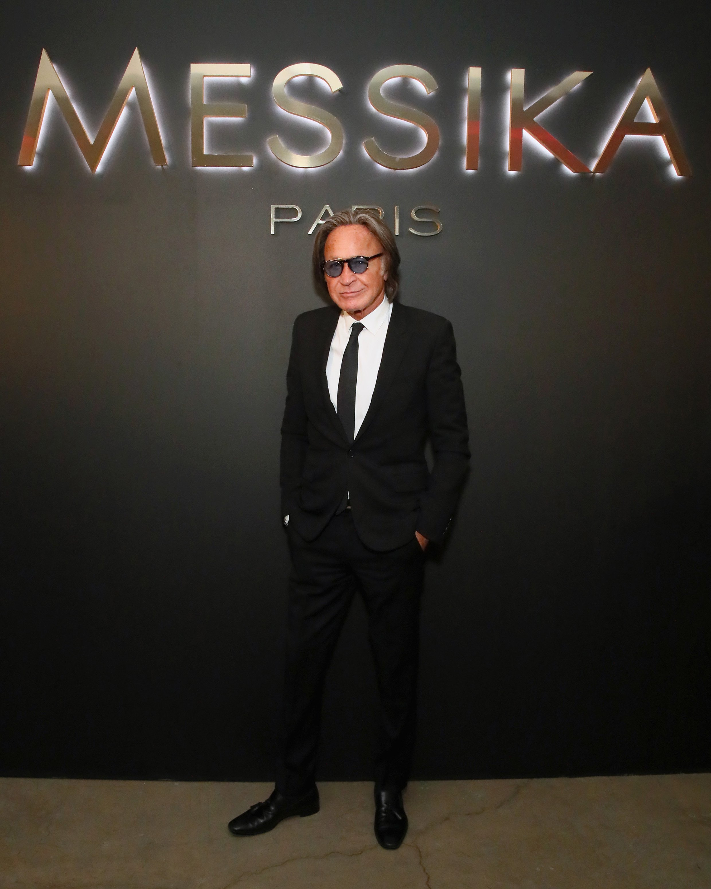 Mohamed Hadid attends NYC Fashion Week Spring/Summer 2019 Launch Of The Messika By Gigi Hadid at Milk Studios on September 12, 2018 in New York City | Photo: GettyImages