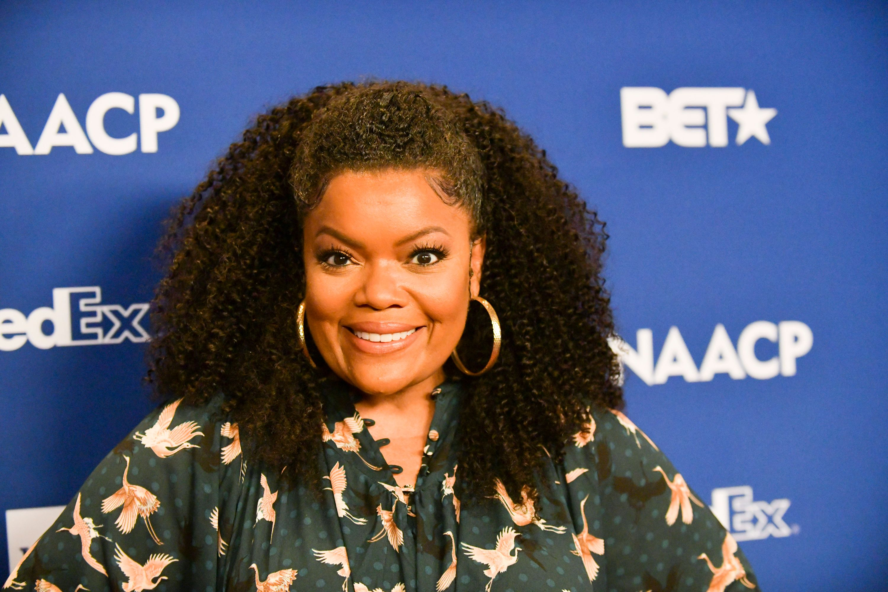 Yvette Nicole Brown at the NAACP Image Awards - Nominees Luncheon on February 01, 2020 in Pasadena.   Photo: Getty Images