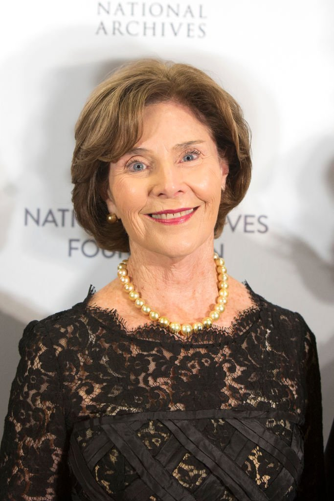 Former First Lady Laura Bush. I Image: Getty Images.