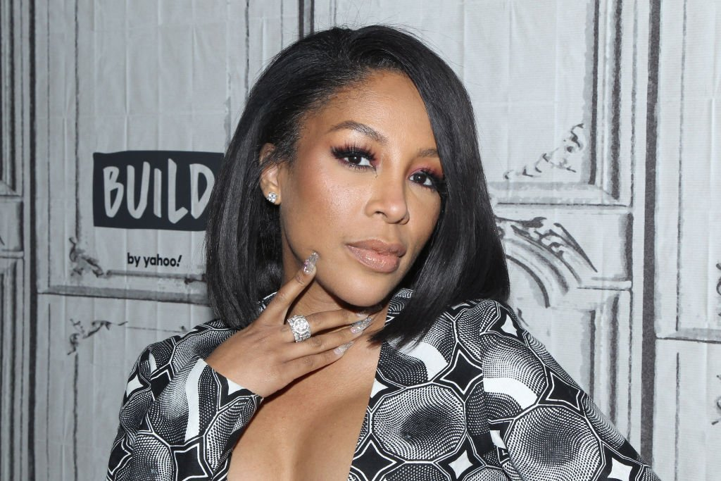 """Singer K. Michelle attends """"The X Change Rate"""" at Build Studio. 