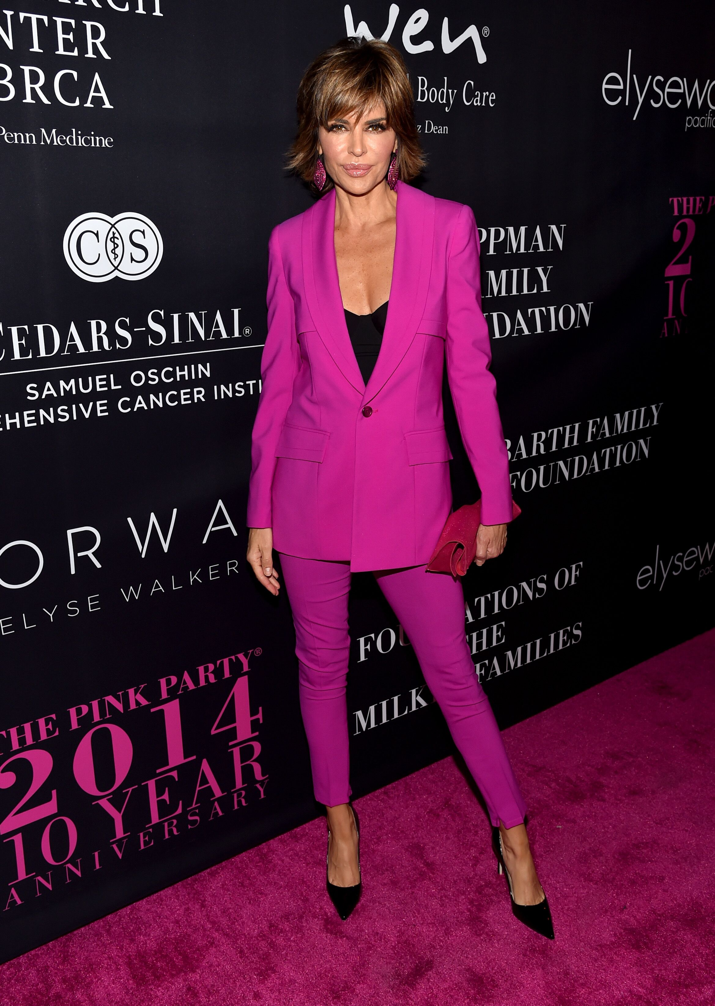 Lisa Rinna at Elyse Walker presents the 10th anniversary Pink Party on October 18, 2014, in Santa Monica, California | Photo: Alberto E. Rodriguez/Getty Images