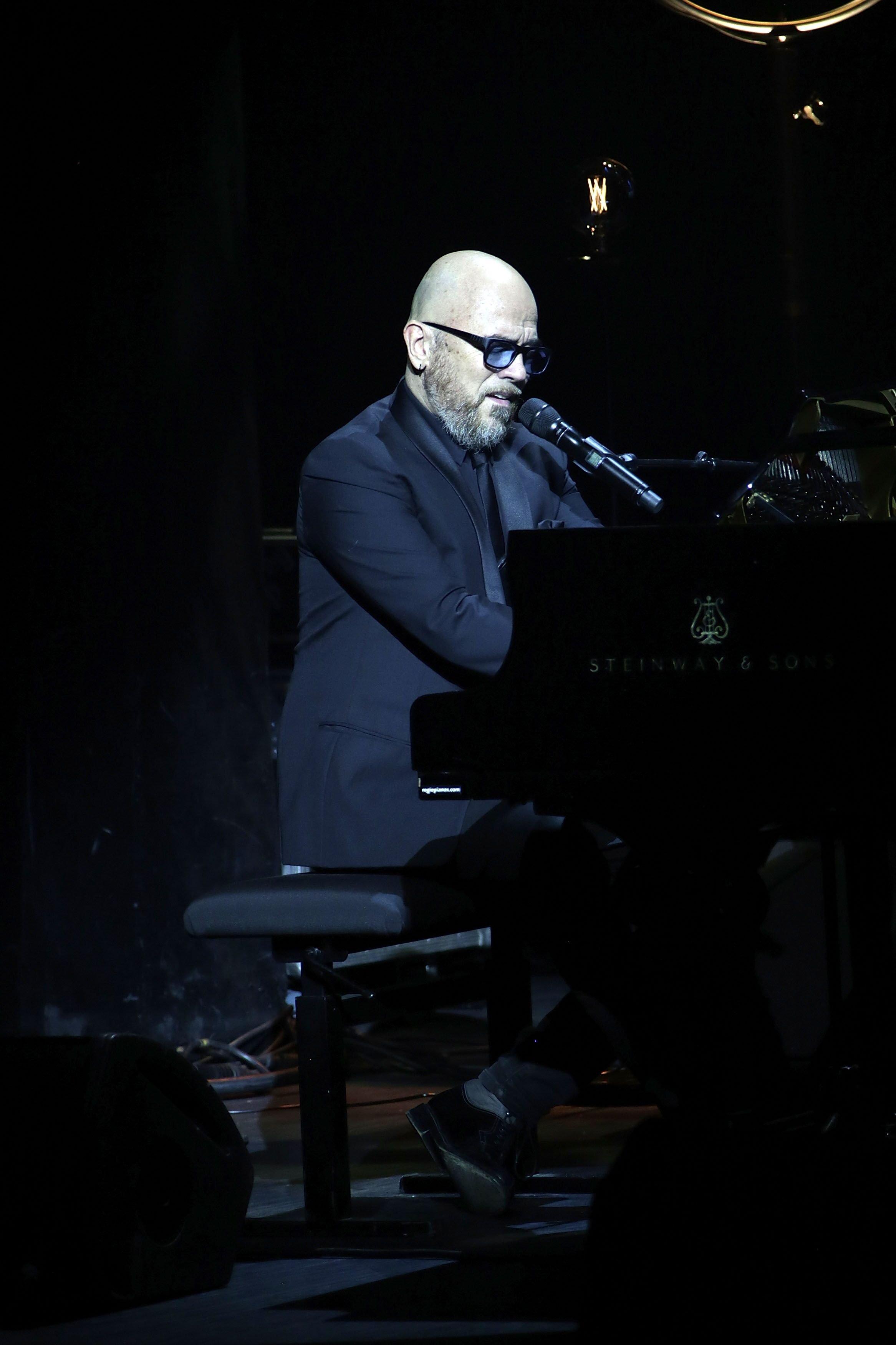 Le chanteur Pascal Obispo. l Source : Getty Images