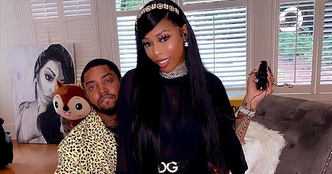 Lil Scrappy & Bambi's Daughter Flashes a Huge Smile While Playing with Luxurious Chanel Box