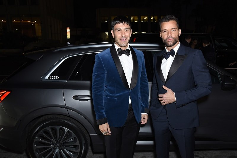 Jwan Yosef and Ricky Martin on November 02, 2019 in Los Angeles, California | Photo: Getty Images