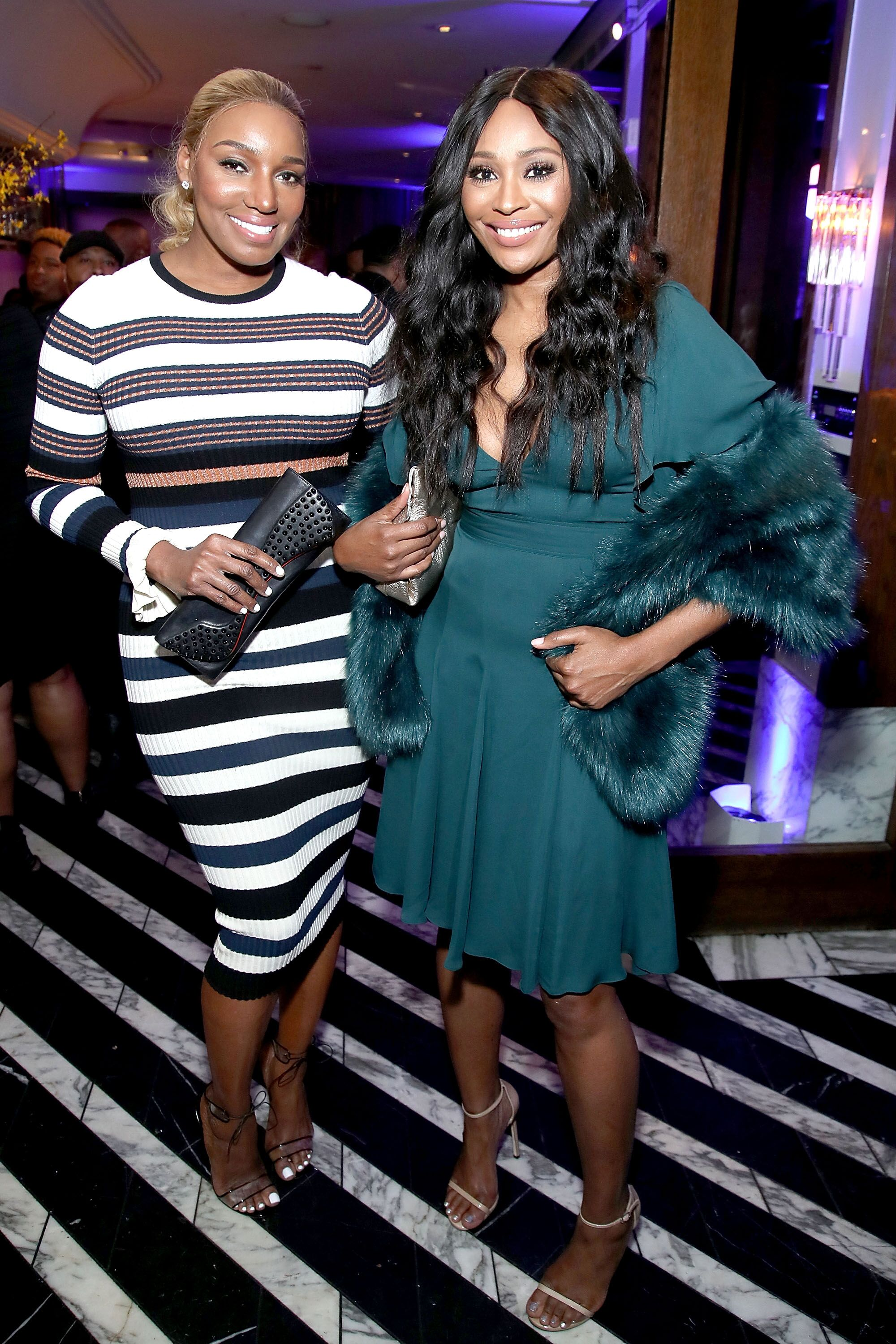 NeNe Leaks and Cynthia Bailey attend Pre ABFF Honors Cocktail Party/ Source: Getty Images