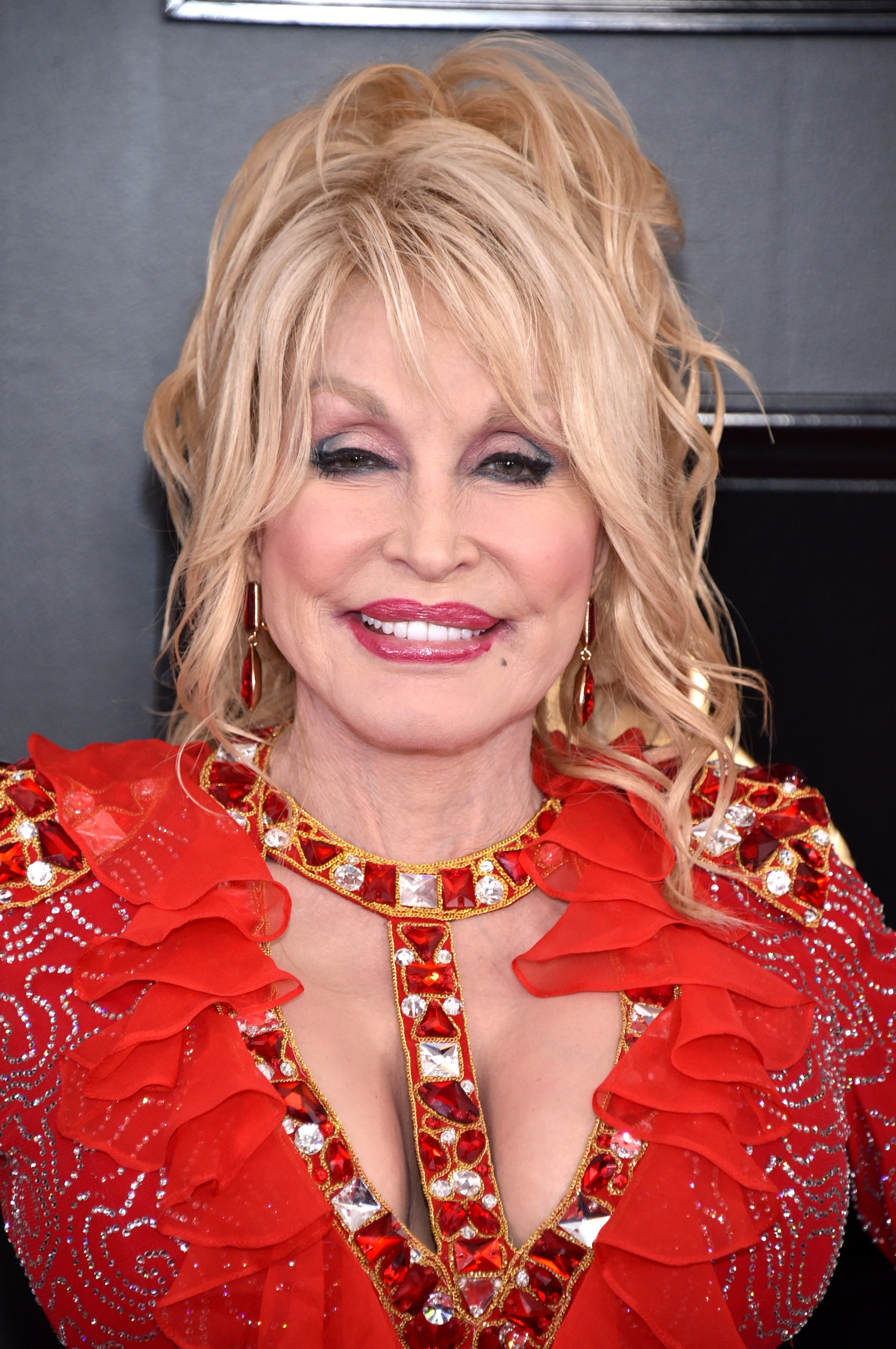 Dolly Parton attends the 61st Annual GRAMMY Awards on February 10, 2019, in Los Angeles, California. | Source: Getty Images.