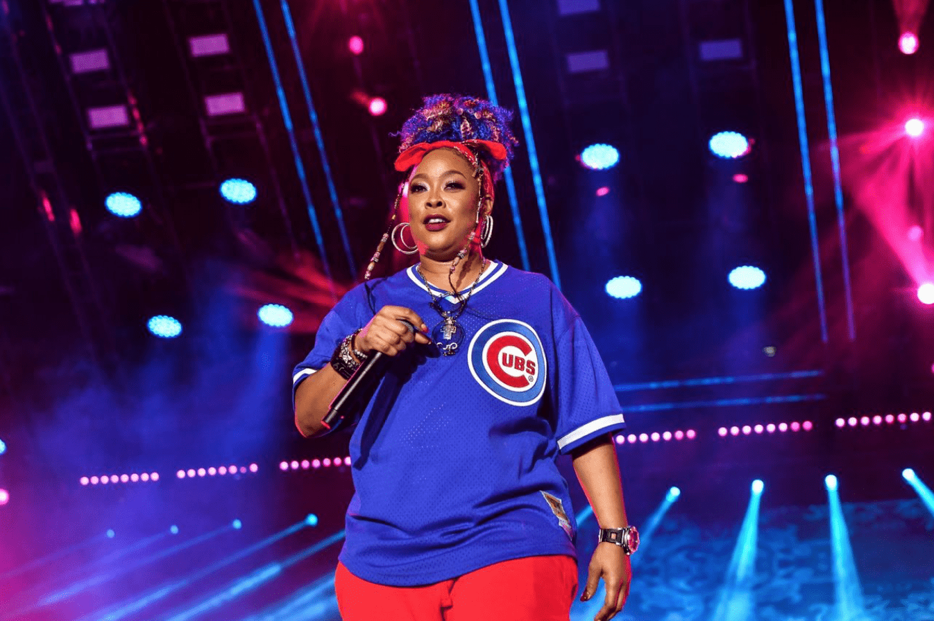 Da Brat performs during the 2019 Essence Festival at the Mercedes-Benz Superdome on July 07, 2019. | Source: Getty Image