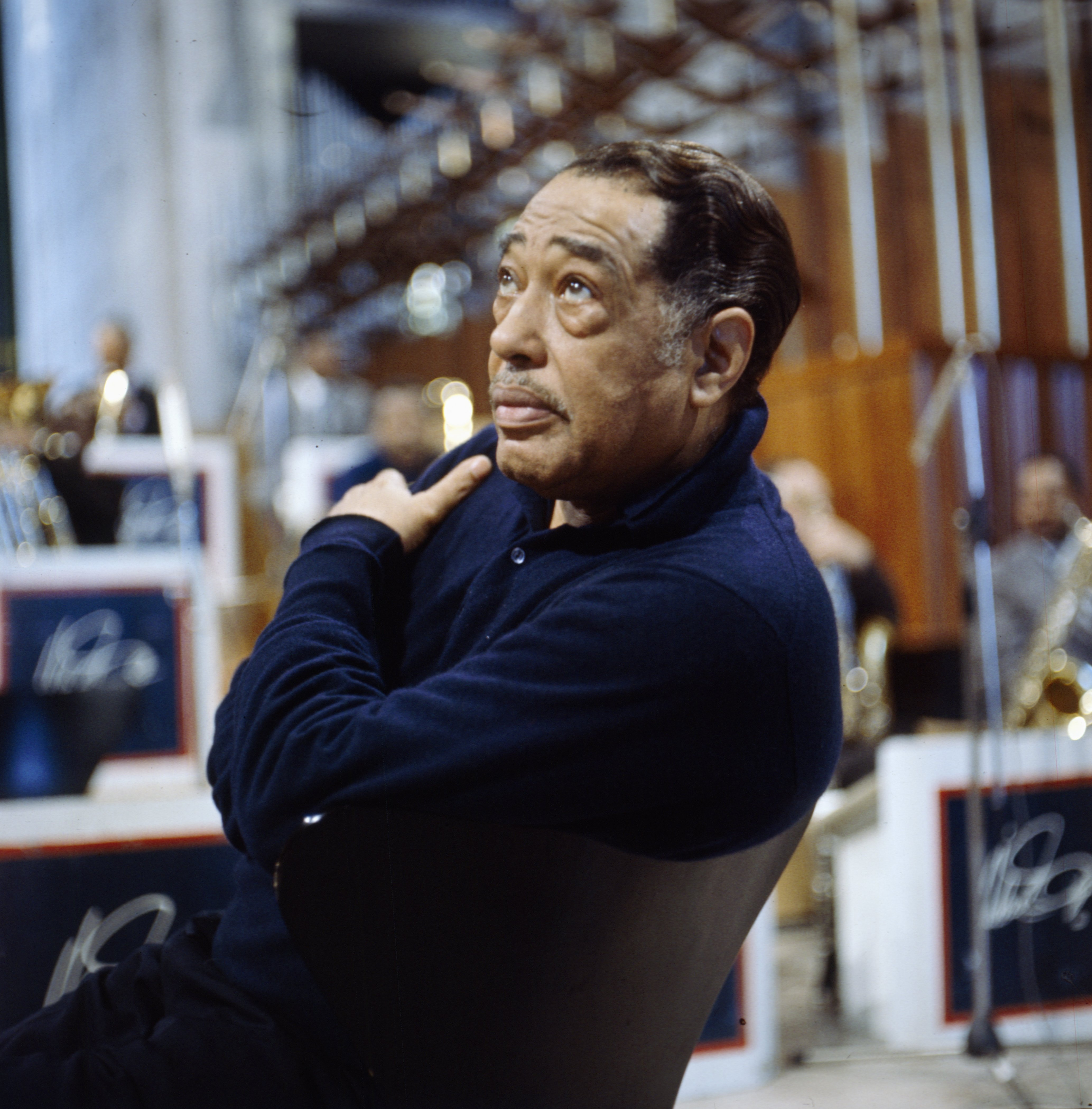 Duke Ellington (1899-1974) pictured in Coventry Cathedral during a performance in February 1966 | Photo: Getty Images