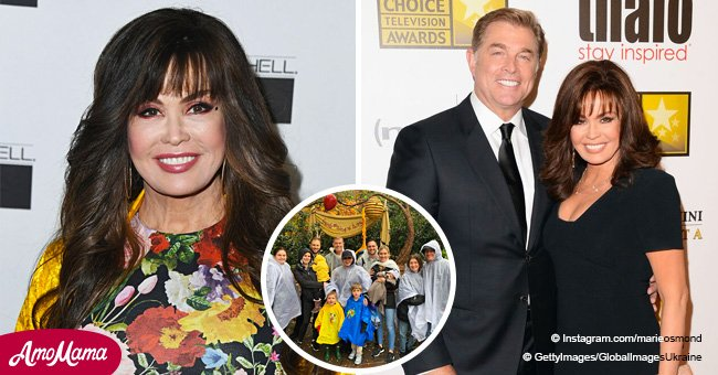 Rare Photos of Marie Osmond's Big Family Looking so Happy Together