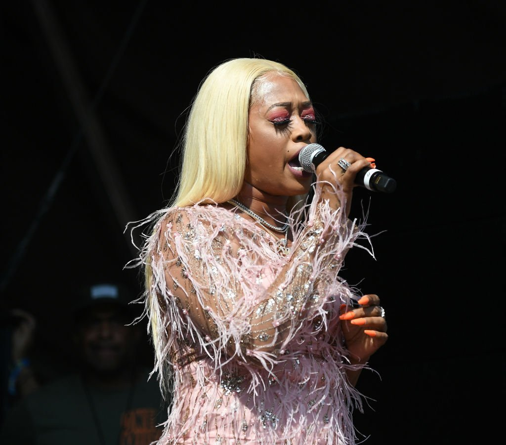 Rapper Trina performs onstage during 10th Annual ONE Musicfest at Centennial Olympic Park | Photo: Getty Images