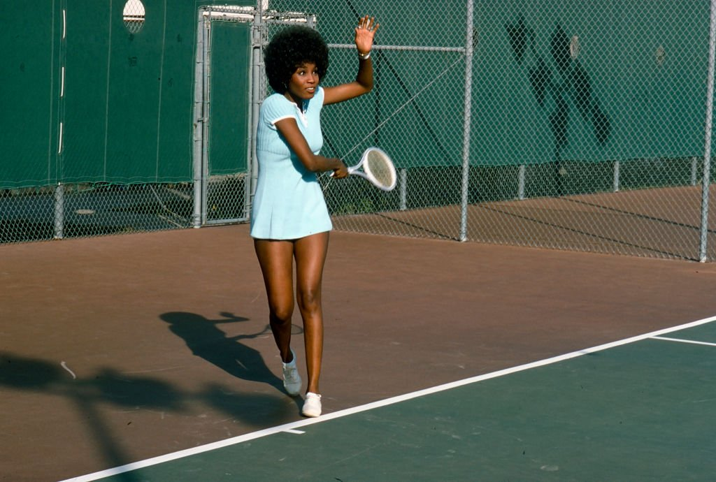 """Teresa Graves appearing in the episode, """"The Big Rematch,"""" from the television show 'Get Christie Love!' circa 1974. 