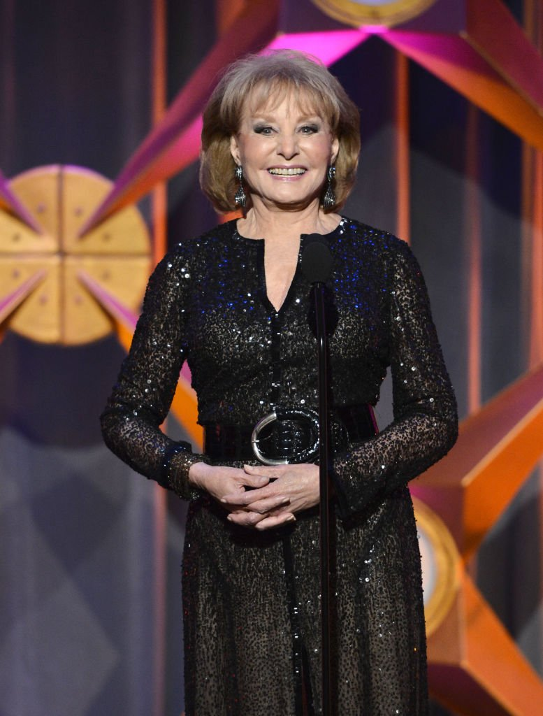 Television personality Barbara Walters speaks onstage during The 39th Annual Daytime Emmy Awards broadcasted on HLN held at The Beverly Hilton Hotel on June 23, 2012 in Beverly Hills, California.   Source: Getty Images