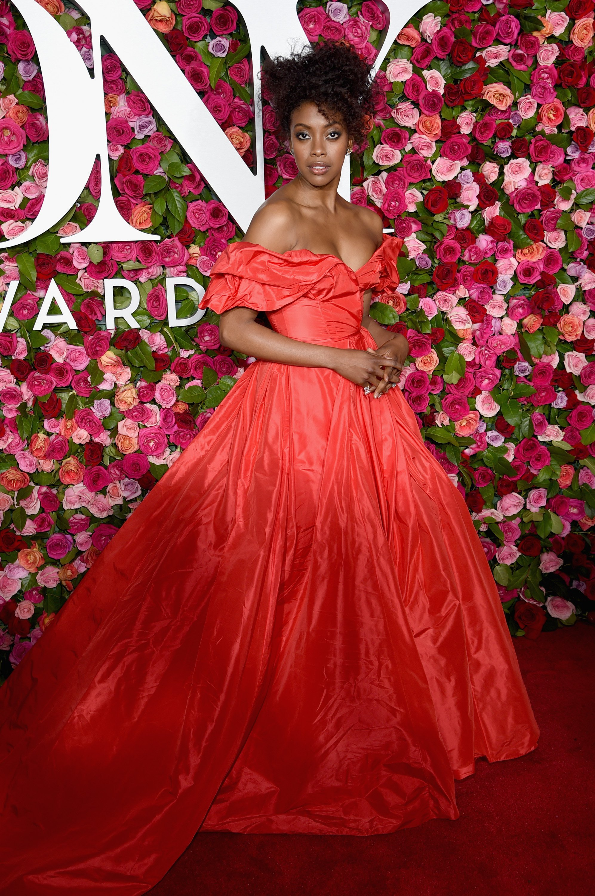 Condola Rashad attends the 72nd Annual Tony Awards at Radio City Music Hall on June 10, 2018 in New York City   Photo: GettyImages