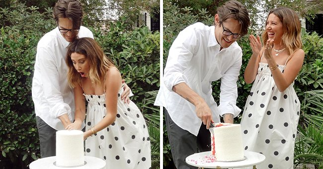 See Ashley Tisdale and Her Husband Christopher French's Gender Reveal for Their First Baby