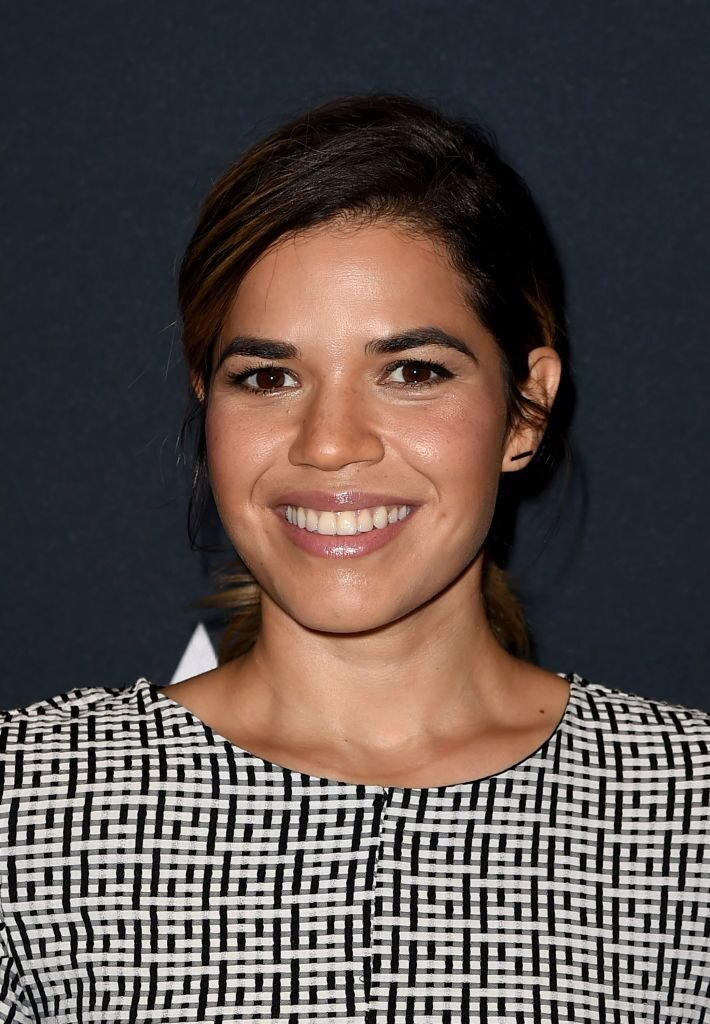 "America Ferrera arrives at The Academy Presents ""Real Women Have Curves."" 