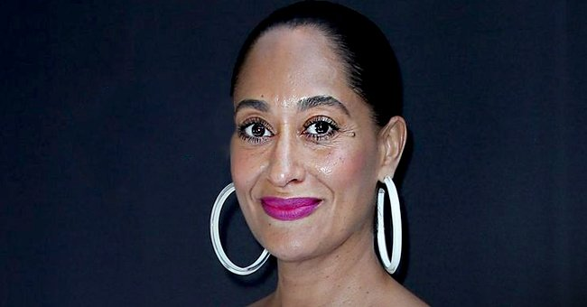 Tracee Ellis Ross Turns Heads in Colorful Pic Wearing Tight Turquoise Dress with Fluffy Sleeves