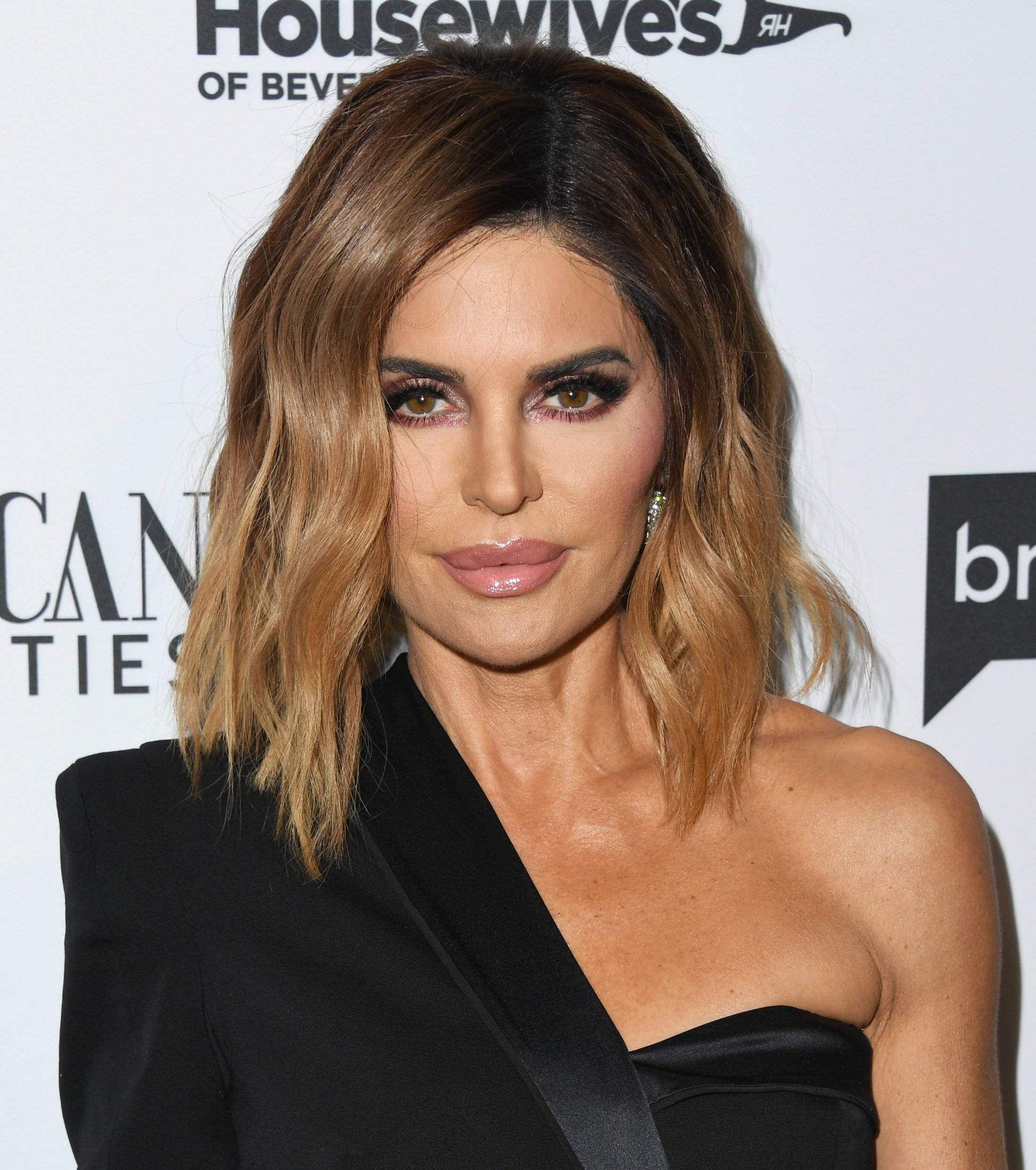 """Lisa Rinna attends Bravo's Premiere Party For """"The Real Housewives Of Beverly Hills"""" Season 9 on February 12, 2019, in West Hollywood, California. 