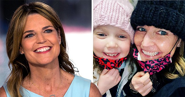 'Today' Co-host Savannah Guthrie Looks Radiant Wearing Cute Matching Masks with Daughter Vale