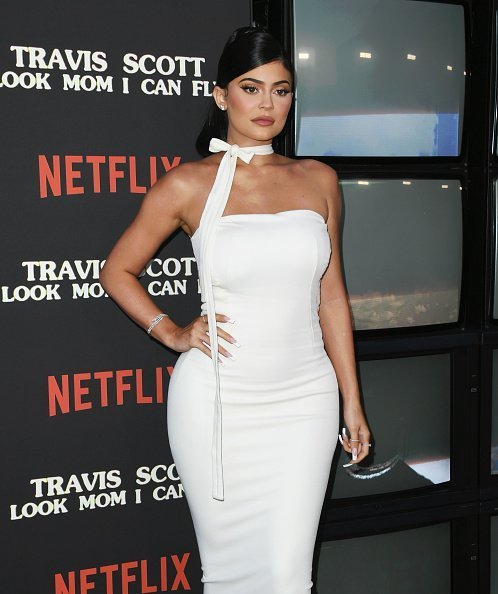 "Kylie Jenner at the Premiere Of Netflix's ""Travis Scott: Look Mom I Can Fly"" in Santa Monica, California.