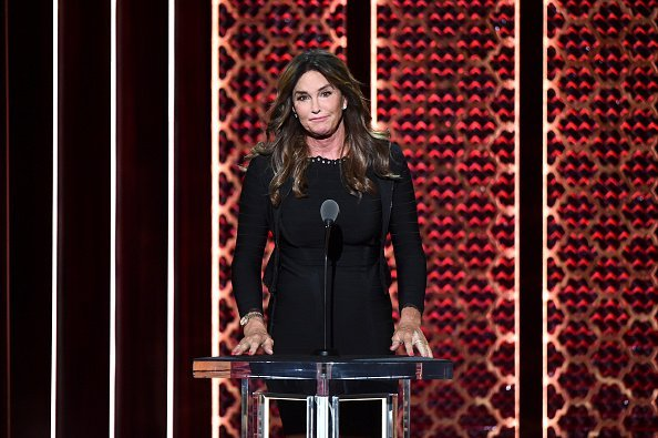 Caitlyn Jenner onstage during the Comedy Central Roast of Alec Baldwin. | Source: Getty Images