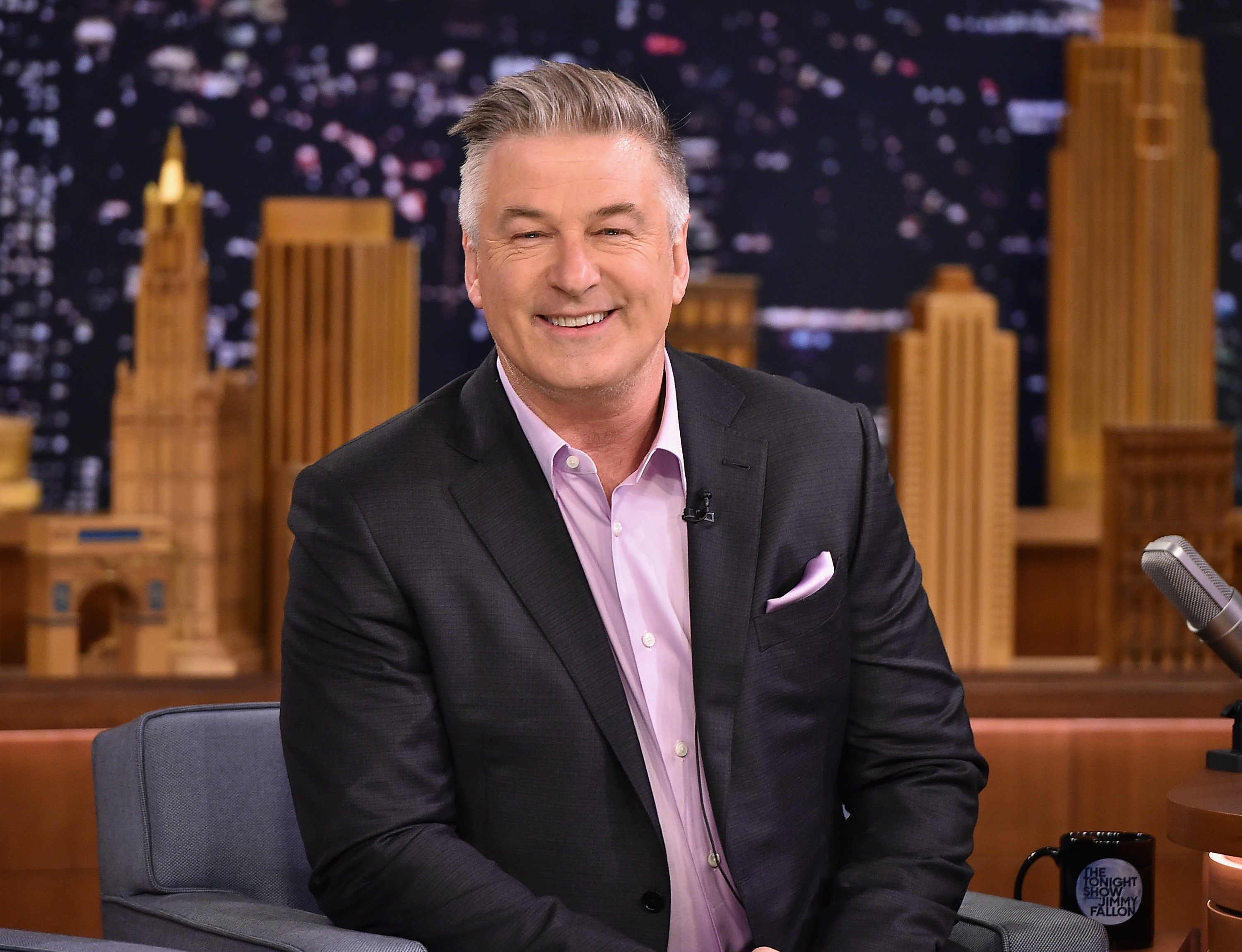 """Alec Baldwin Visits """"The Tonight Show Starring Jimmy Fallon"""" at Rockefeller Center on February 9, 2017 in New York City   Photo: Getty Images"""