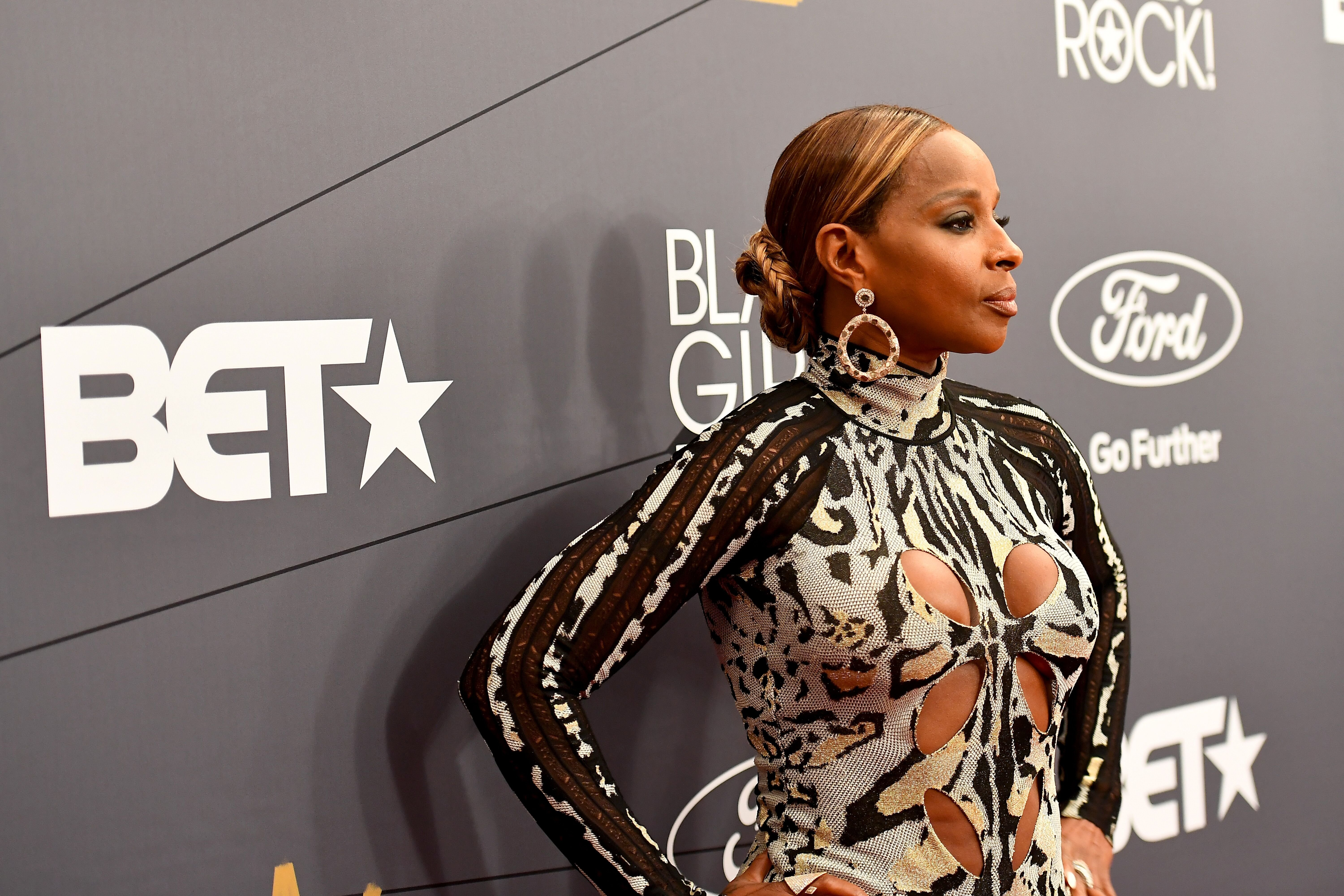 Mary J. Blige attends the Black Girls Rock! 2018 Red Carpet at NJPAC on August 26, 2018. | Photo: GettyImages