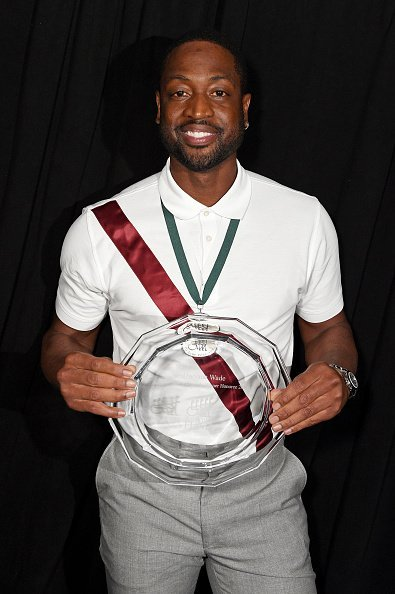 Dwyane Wade at the 34th Annual Great Sports Legends Dinner on October 07, 2019 | Photo: Getty Images