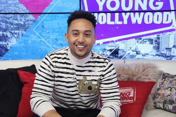 Tahj Mowry at the Young Hollywood Studio in Los Angeles, California.| Photo: Getty Images.