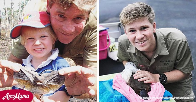 Steve Irwin's son aged just 14 is now an especially talented nature photographer