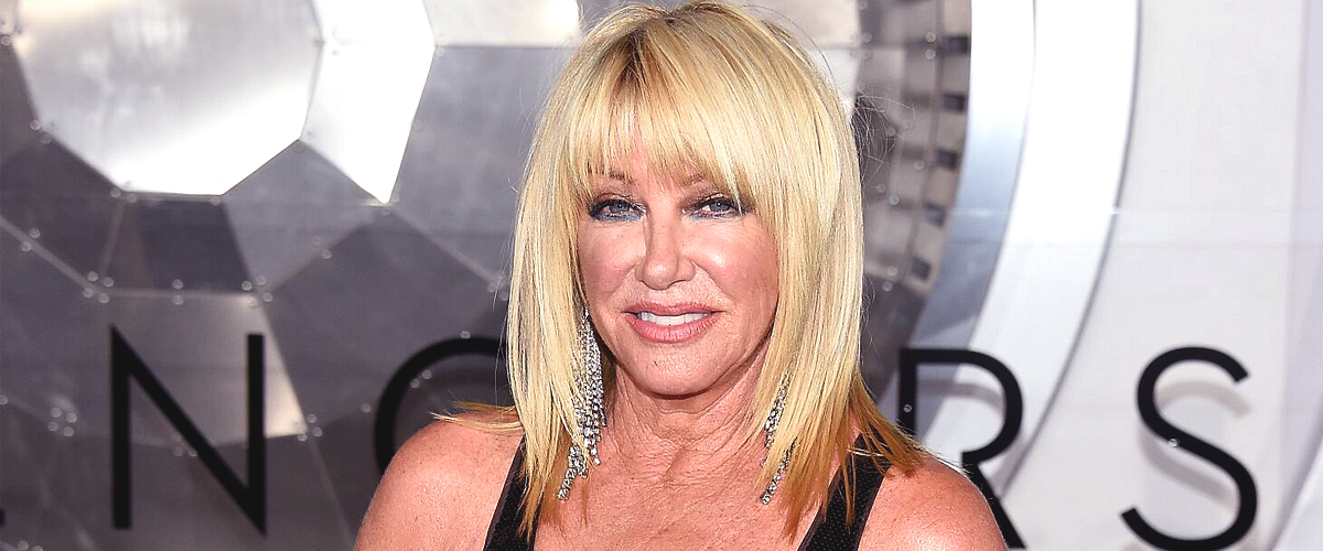 Suzanne Somers Looks Age-Defying in Short Yellow Dress in Picture with Her Husband