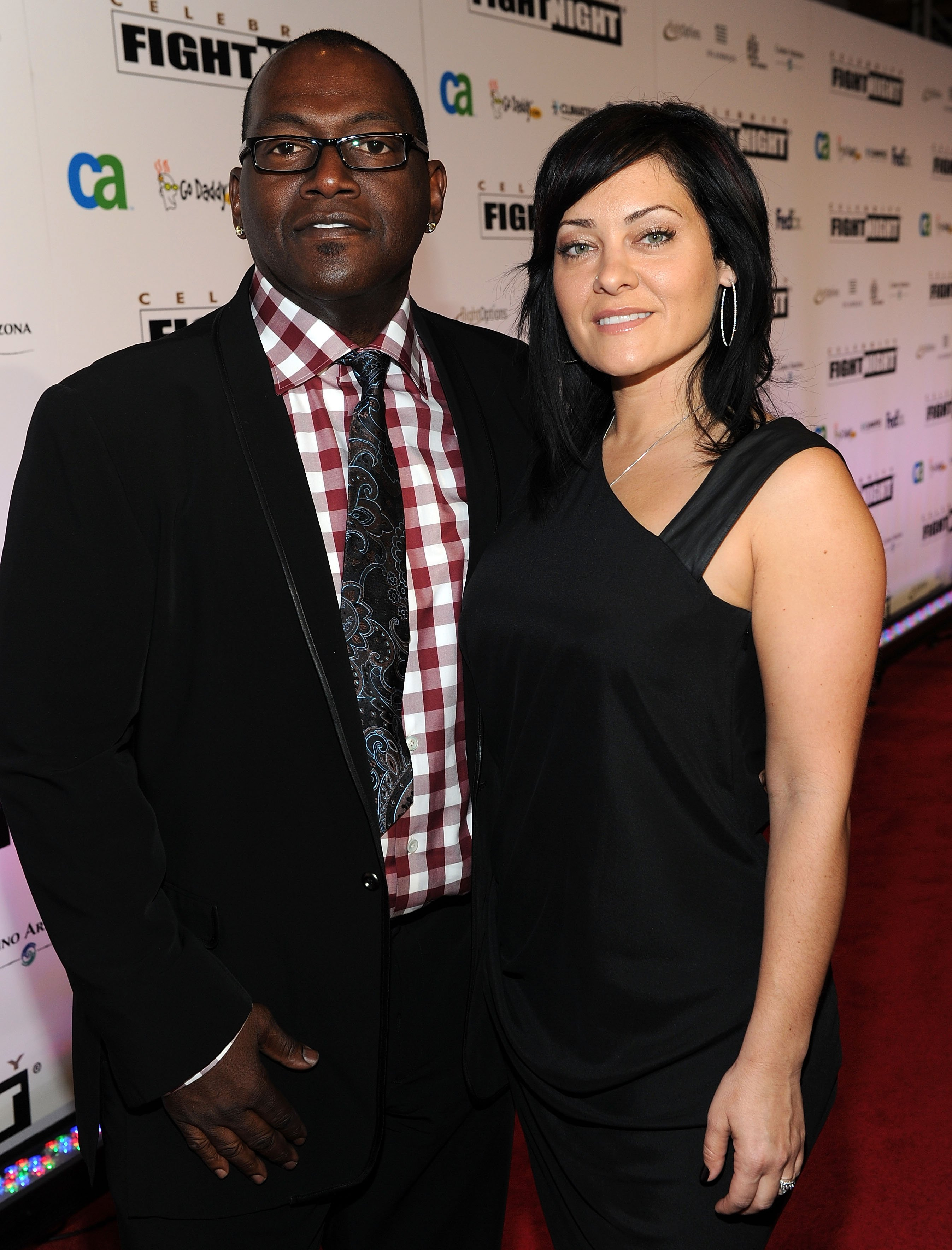 Randy Jackson and his ex-wife Erika Riker in March 2010, four years before Riker filed for divorce. | Photo: Getty Images