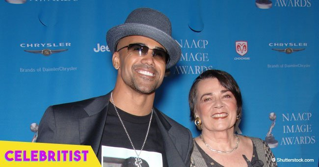Shemar Moore's fiery dance for his mother's birthday