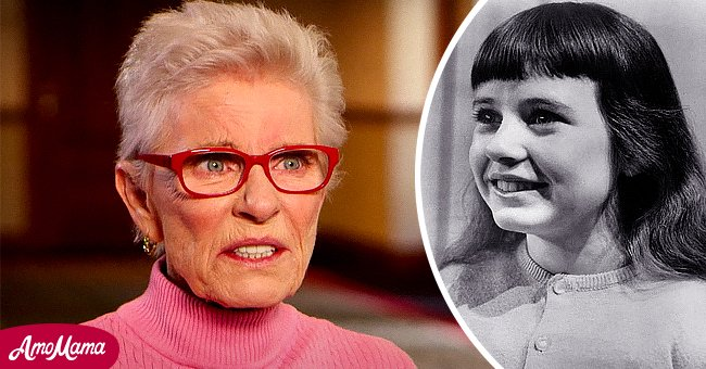 Patty Duke as a child and an adult   Photo: Wikipedia.org/United States Steel - YouTube.com/PBSNewsHour
