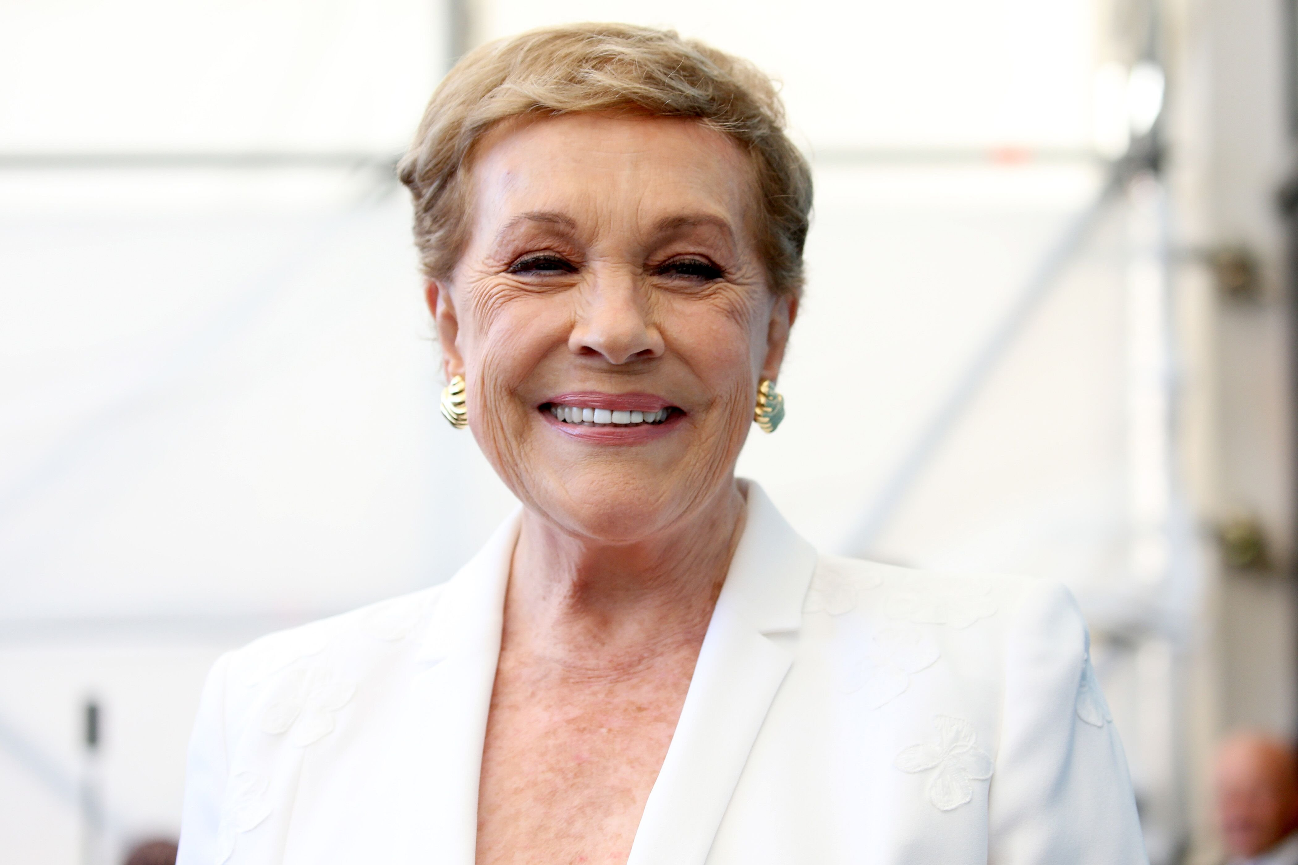 Julie Andrews attends the Golden Lion for Lifetime Achievement photocall. | Source: Getty Images