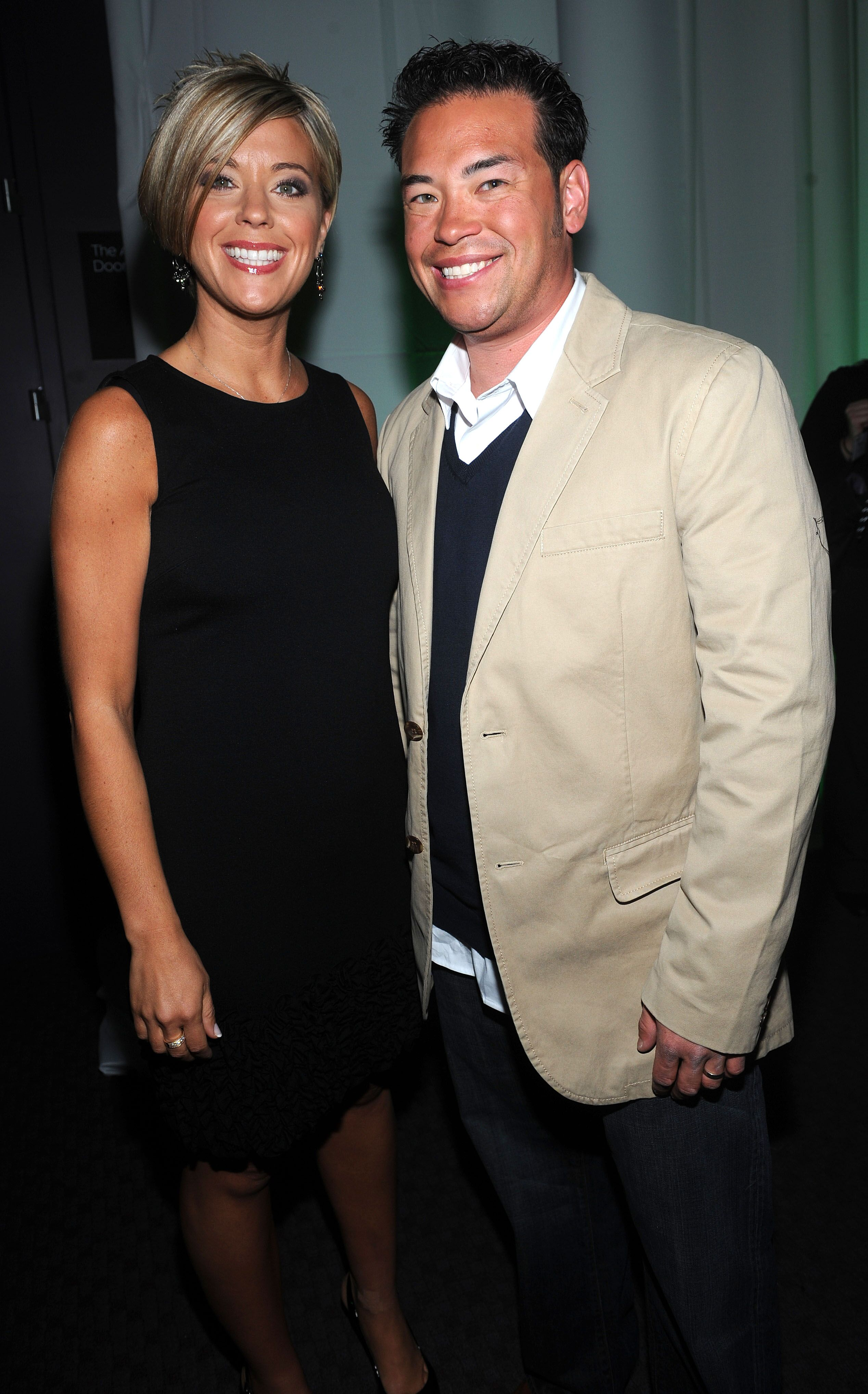 Kate Gosselin and Jon Gosselin attend Discovery Upfront at Jazz at Lincoln Center on April 2, 2009 | Photo: Getty Images