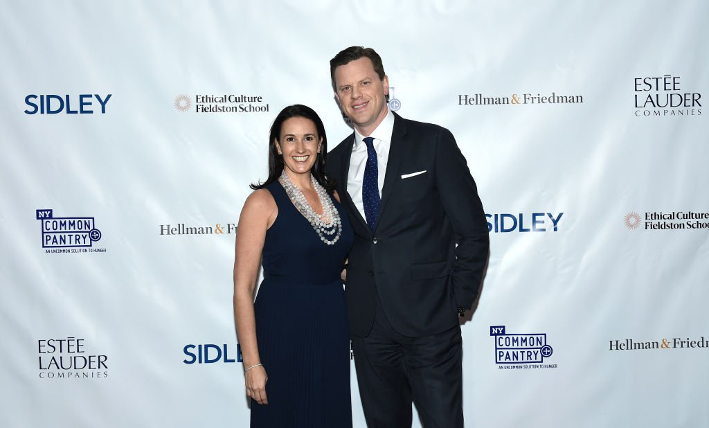 Christina and Willie Geist attend New York Common Pantry's 11th Annual Fill The Bag Benefit At The Ziegfeld Ballroom on March 05, 2019, in New York City. | Source: Getty Images.