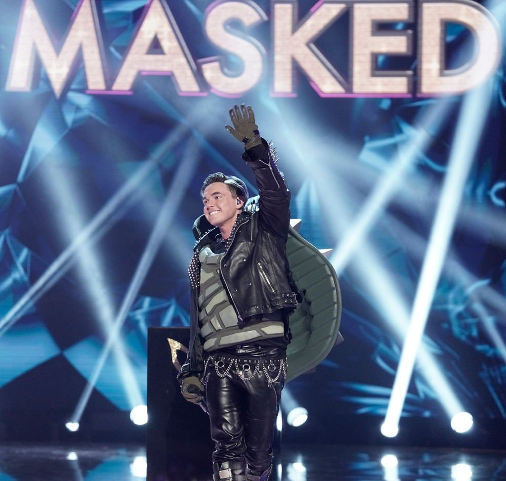 Jesse McCartney in the Couldnt Mask For Anything More: The Grand Finale! season finale episode of THE MASKED SINGER on May 20, 2020 | Photo: Getty Images