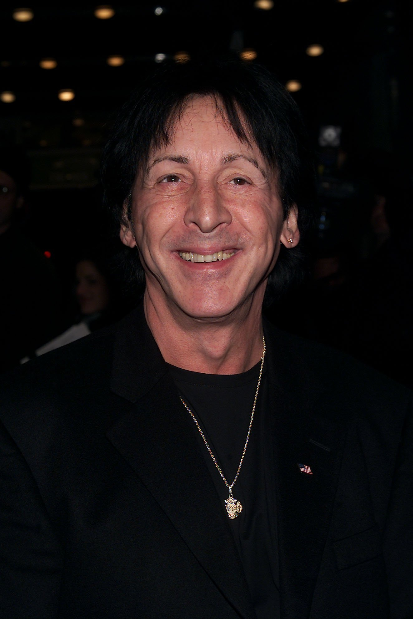 Peter Criss of Kiss in New York City on May 11, 2001 | Source: Getty Images