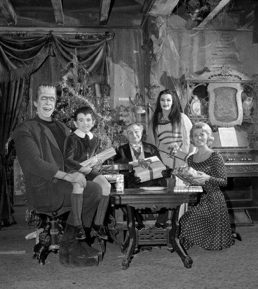 The cast of the CBS television situation comedy 'The Munsters' | Photo: Getty Images